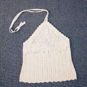 MODA International Crochet Top